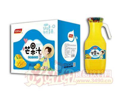 美格丝芒果汁饮料1.5L×6瓶箱装