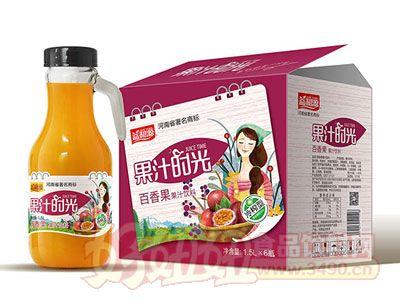 益和源百香果汁手提瓶1.5L×6瓶