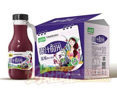 益和源蓝莓汁手提瓶1.5L×6瓶