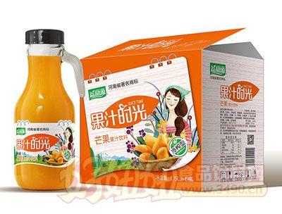 益和源芒果汁手提瓶1.5L×6瓶