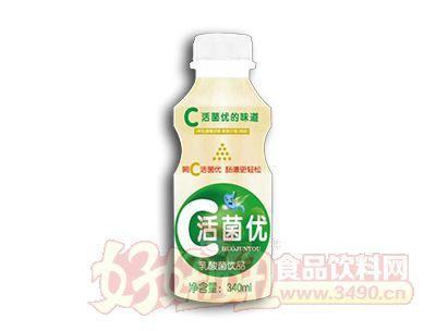 康发活菌优乳酸菌饮品340ml