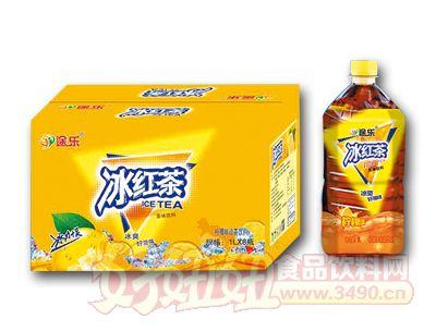 途乐冰红茶柠檬味1L