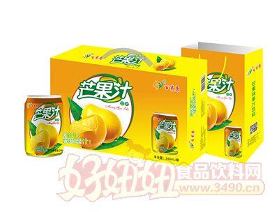 百事康芒果汁248ml×20罐
