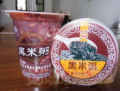 友隆黑米粥320ml杯装