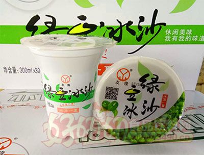 友隆绿豆冰沙300ml*30杯