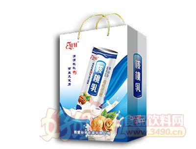 轩轩核桃乳高钙低糖240ml礼盒装