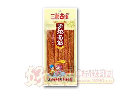 三湘古镇炭烧面筋烧烤味192克