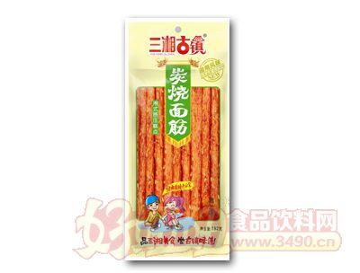 三湘古镇炭烧面筋鸡汁味192克