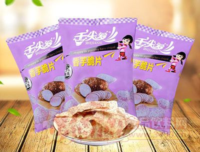 舌尖爱椒盐味香芋脆片60g