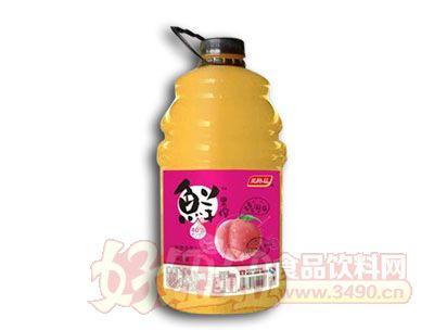 美格丝鲜果榨水蜜桃汁2.5L