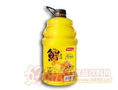 美格丝鲜果榨芒果汁饮料2.5L