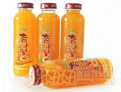 林盛果缘杏汁饮料瓶装