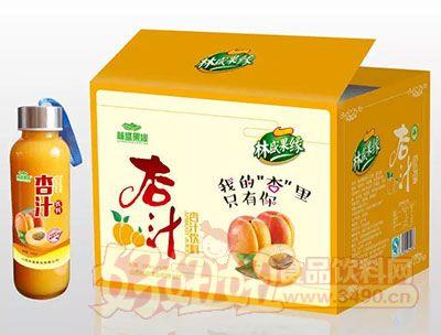 林盛果缘杏汁饮料