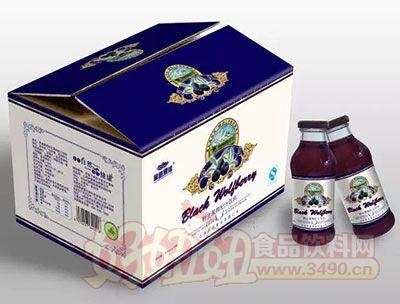 林盛果缘野生黑枸杞汁饮料