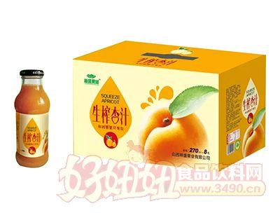 林盛果缘生榨杏汁270ml×8瓶