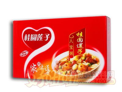 达利园桂圆莲子八宝粥礼盒310g×6罐