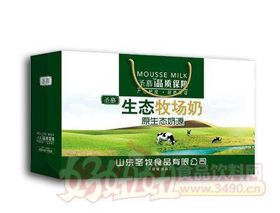圣慕生态牧场奶原生态奶源礼盒装