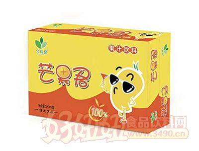 绿太饮品芒果君果汁饮料320ml箱装