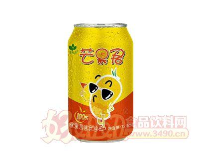 绿太芒果君果汁饮料320ml罐装