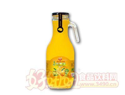 鲜榨芒果汁玻璃杯装1.5L