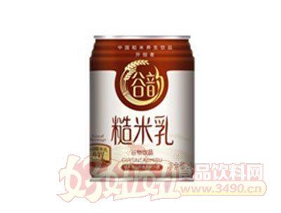 谷韵糙米乳罐装248ml