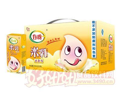 谷韵益智型米乳利乐装箱250ml×24盒