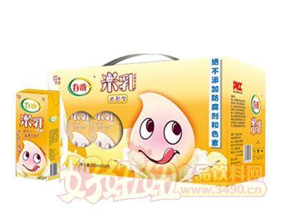 谷韵益智型米乳利乐装箱250ml×12盒