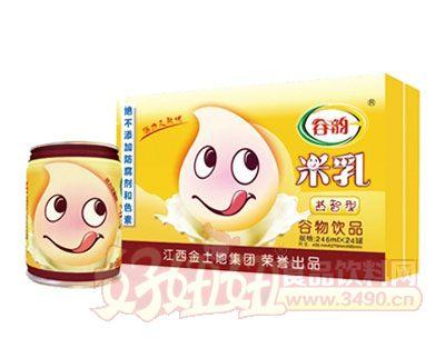 谷韵益智型米乳罐装箱246ml×24罐