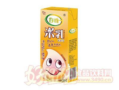 谷韵益智型米乳利乐装250ml