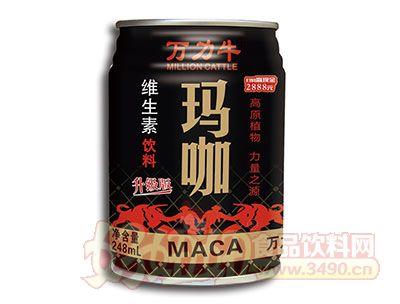 万力牛玛咖维生素饮料248ml