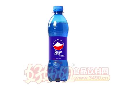 百汇康蓝色可乐450ml