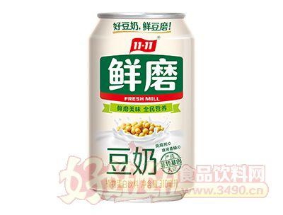 11-11鲜磨豆奶310ml