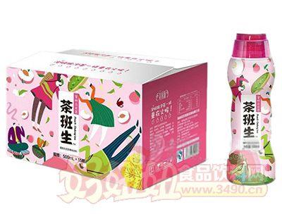 美果派茶班生蜜桃乌龙茶果味饮料500mlx15瓶