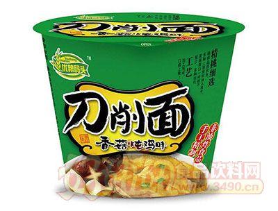 优粮码头香菇炖鸡味刀削面