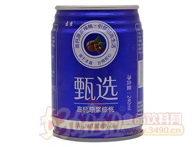 磊盈甄选高钙原浆核桃240ml