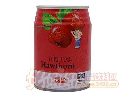 磊盈山楂汁饮料240ml