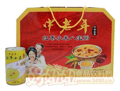 磊盈中老年红枣小米八宝粥箱装