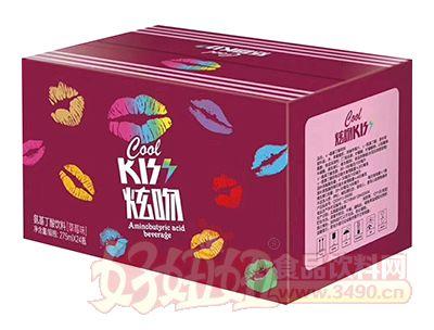 炫吻KISS氨基丁酸饮料草莓味275ml×24瓶