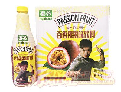 泰爷百香果果味饮料1.25L×6瓶装