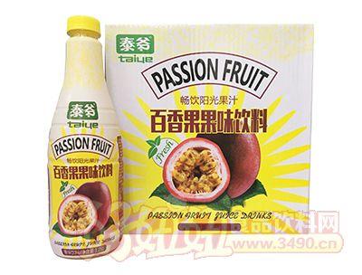 泰爷百香果果味饮料1.25L×6瓶
