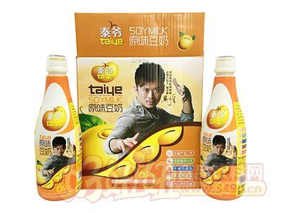 泰爷原味豆奶复合蛋白饮料1.25L×6瓶