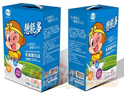 慧能多西游记乳酸菌饮品250ml×12盒奶嘴瓶蓝礼盒