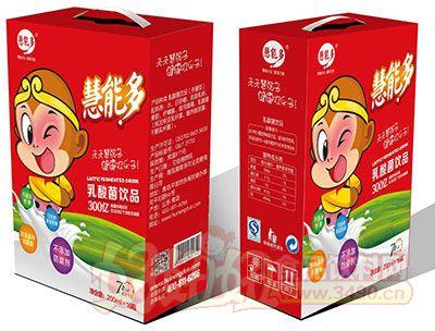 慧能多西游记乳酸菌饮品250ml×12盒奶嘴瓶红礼盒