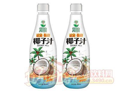 椰呦正宗海南椰子汁植物蛋白饮料500ml
