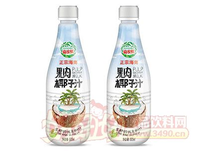 山水情正宗海南果肉椰子汁植物蛋白饮料500ml