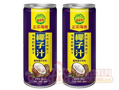 山水情正宗海南椰子汁植物蛋白饮料245ml