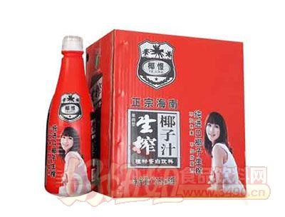 椰憬椰子汁1.25LX6瓶