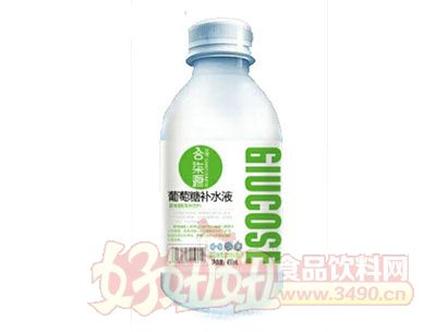 合柒源葡萄糖补水液450ml绿