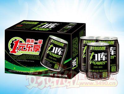 力库强化维生素什果味饮料250ml×24罐