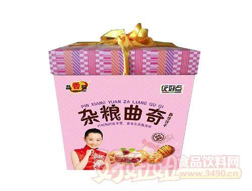 品香苑好吃点杂粮曲奇饼干精致礼盒